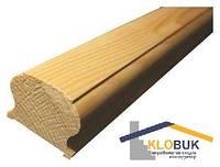 Деревянный поручень из бука, длина 1000 мм