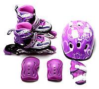 Комплект роликов Нарру фиолетовый