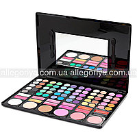 Тени для макияжа 78 оттенков mac + 12 цветов помады + 6 румян Палитра теней реплика