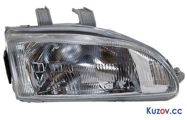 Фара Honda Civic 92-95 правая (Depo) электрич. 217-1111R-LD-EM 33100SR3G01, фото 2