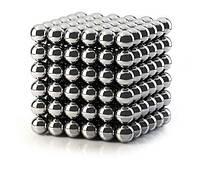Неокуб NEOCUBE  никелевый 5 мм 216 сфер, магнитные шарики, головоломка