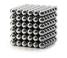 Неокуб NEOCUBE нікелевий 5 мм 216 сфер, магнітні кульки, головоломка