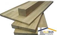 Деревянный мебельный щит из бука, 1 сорт цельноламельный 1200*1000*40 мм