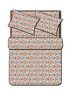 Полуторный комплект постельного белья эконом (наволочка 50х70см. 1 шт., мал KF11829-11 (7РЕ)