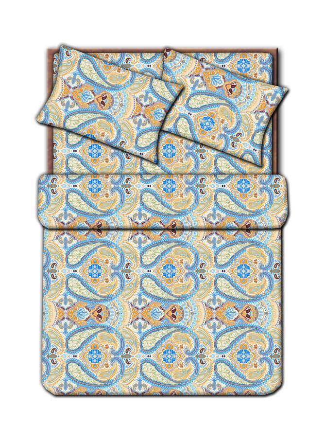Полуторный комплект постельного белья эконом (наволочка 50х70см. 1 шт., мал KF12335-6 (7РЕ)