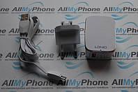 Сетевое зарядное устройство 2in1 Ldnio A1204Q, Quick Charge 2.0, 1 USB + кабель micro usb
