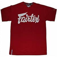 Футболка Fairtex red  S