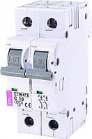Авт. выключатель ETI  ETIMAT 6  2p С 16А (6 kA), 2143516