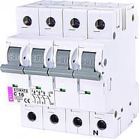 Авт. Выключатель ETI ETIMAT 6  3p+N C 16А (6 kA), 2146516