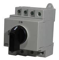 """Выключатель нагрузки ETI  LS 16 SMA A4  4р """"1-0"""" 16A 1000V DC, 4660063"""