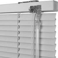 Жалюзи горизонтальные алюминий, 25мм , белый цвет с сертификатом качества ISO 9001! 1 год гарантии!