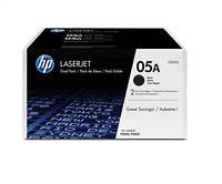 Картридж HP 05A LJ P2035/P2055 Black (2*2300 стр) Двойная упаковка, CE505D