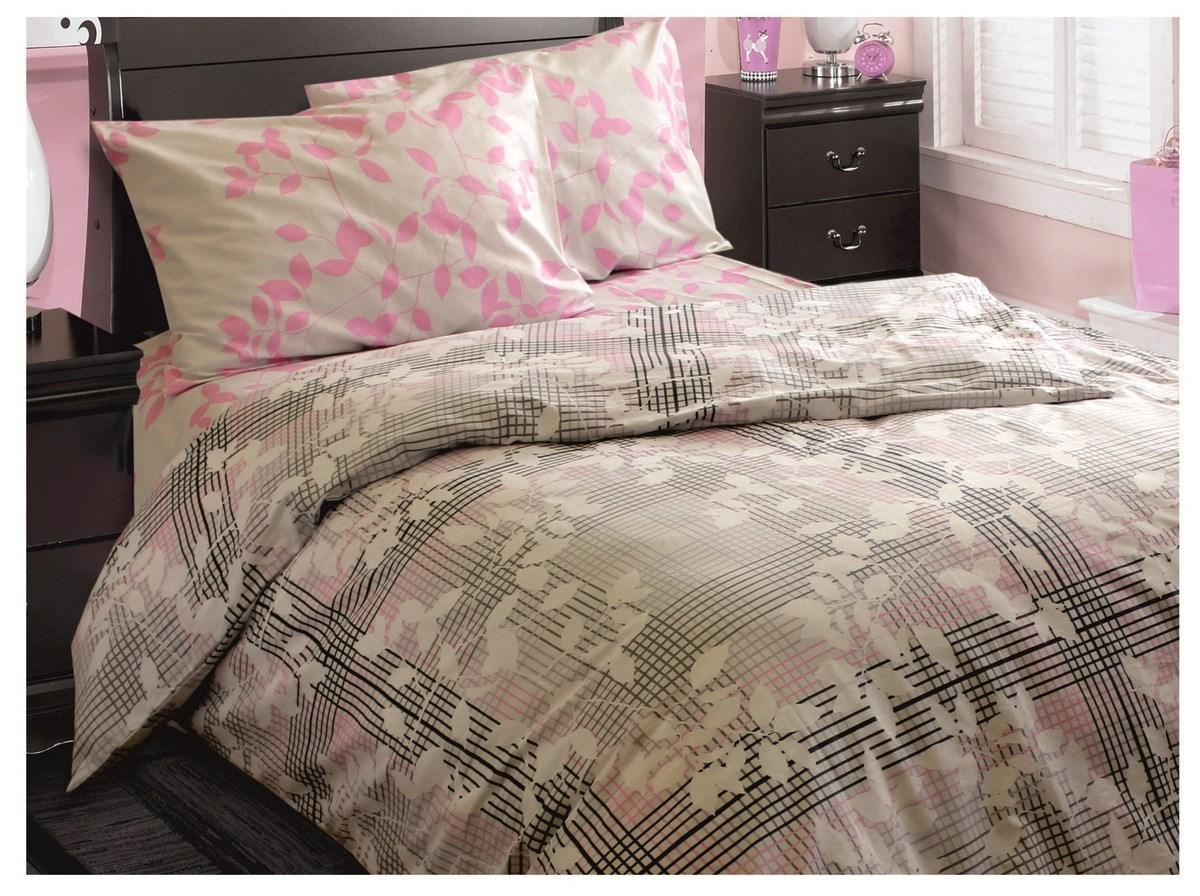 Семейный комплект постельного белья Бязь Ода