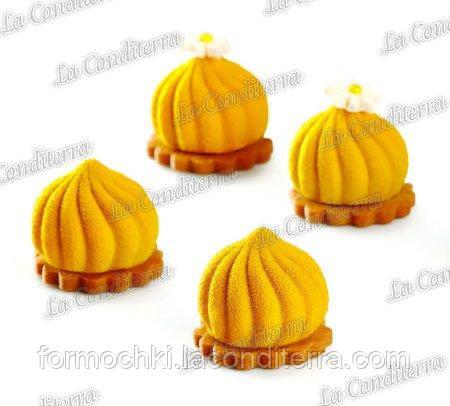 Силиконовая форма для десертов PAVONI PX4324