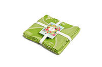 Набор полотенец из трёх штук бамбук Жаккард/Олива, 40х60см