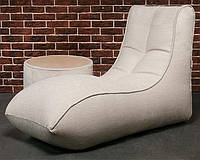 Кресло-лежак Long Island, рогожка (размеры: L)
