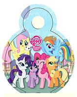 "Медали ""Little Pony"". В упак: 10шт. Диаметр: 75мм. Материал: Картон."