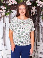 Легкая летняя блуза №1971