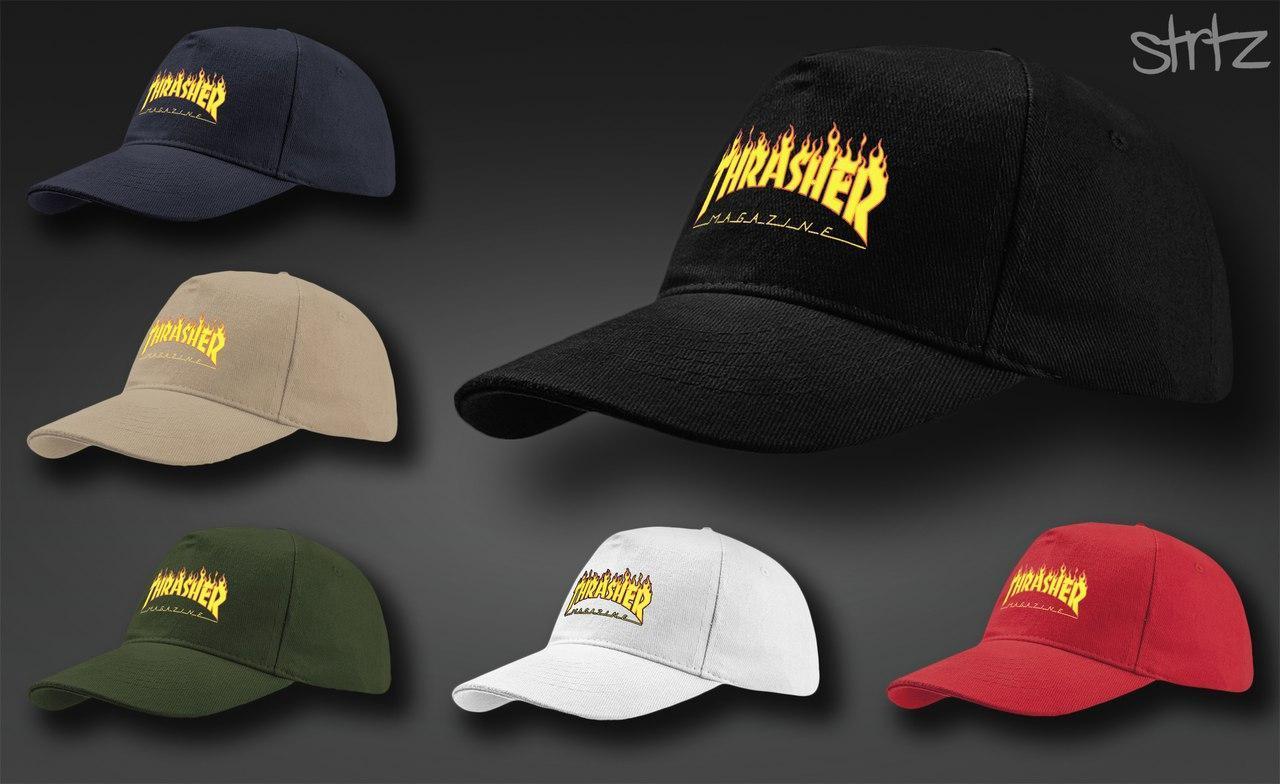 Молодежная модная кепка Thrasher