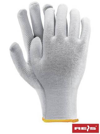 Защитные перчатки изготовленные их хлопка, с односторонним накроплением RMICROLUX W, фото 2