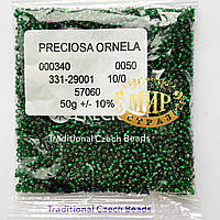 Бисер чешский Preciosa 10/0 № 57060 Упаковка 50г