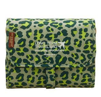 Зелений леопард колір косметички