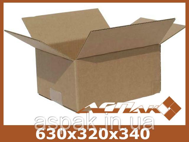 Гофроящик для яиц 630х320х340 (яичный) ПК 32 ЕВ пятислойный