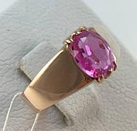 Кольцо золотое с аметистом 583 пробы СССР