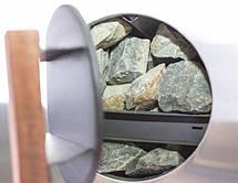 Печь-каменка Домна-Панорама 30 ЛРК для бани и сауны, фото 2