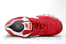 Женские кроссовки New Balance WL574CNC Classic Suede, Red, фото 2