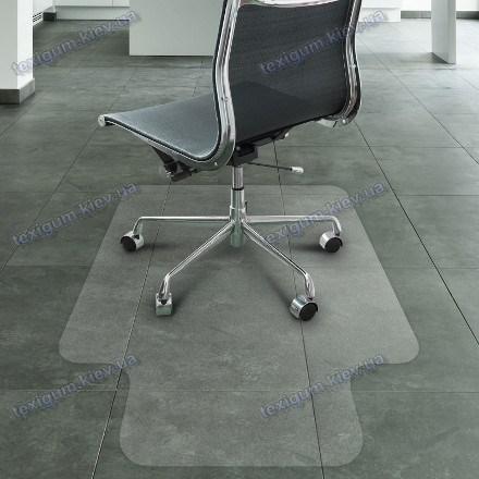 Защитный ковер под кресло прозрачный 92х122cм Германия. Толщина 2,9мм