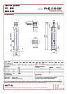 Гідроциліндр з шарніром Binotto MF 145-3-3075 RO (фронтальний), фото 2