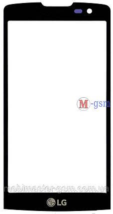Корпусное стекло на LG H324 Y50 Leon черное, фото 2