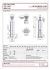 Гідроциліндр з шарніром Binotto MF 145-3-3825 RO (фронтальний), фото 2