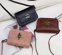 Женская сумка клатч через плечо в стиле Ретро
