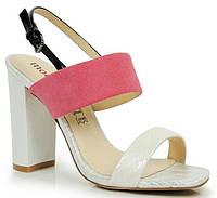 Розовые женские босоножки Sinopa