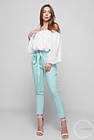Укороченные женские брюки из хлопка (2 цвета)