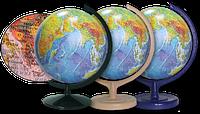 Физический/политический глобус с двойной картой 32 см