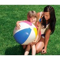 Мяч надувной пляжный для игры на воде