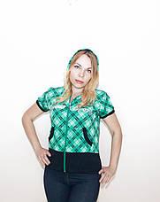 Кофта женская спортивная с коротким рукавом COROS, фото 3