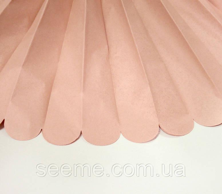 Бумажные помпоны из тишью «Terracota», из 12 листов, диаметр 50 см