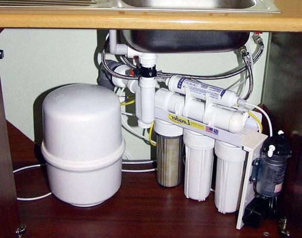 Установка фильтров тонкой очистки