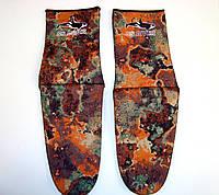 Носки для дайвинга и подводной охоты BS Diver Camolex неопреновые под боты Камуфляж 3 мм, размер М, фото 1