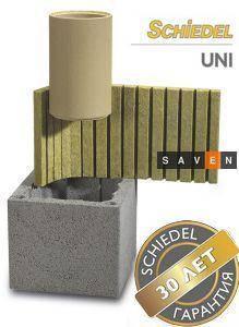 Керамический модульный дымоход SCHIEDEL Uni (двухходовой с вентиляцией), фото 2