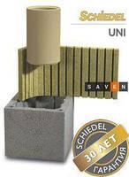 Керамический модульный дымоход Shiedel Uni (двухходовой с вентиляцией)