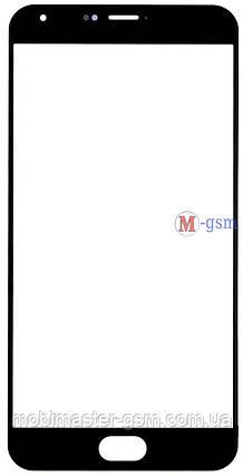 Корпусное стекло на  Meizu Pro 5 черное, фото 2