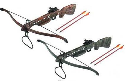 Арбалеты, луки, стрелы и аксессуары