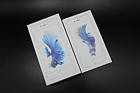 Заводские коробки для iPhone 6s & 6s Plus Silver. Печать имей.