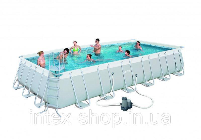Каркасный бассейн Bestway 56474 (732x366x132 см)