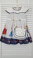 Платье с сумочкой для девочки  2- 5 лет. Creamix. Турция